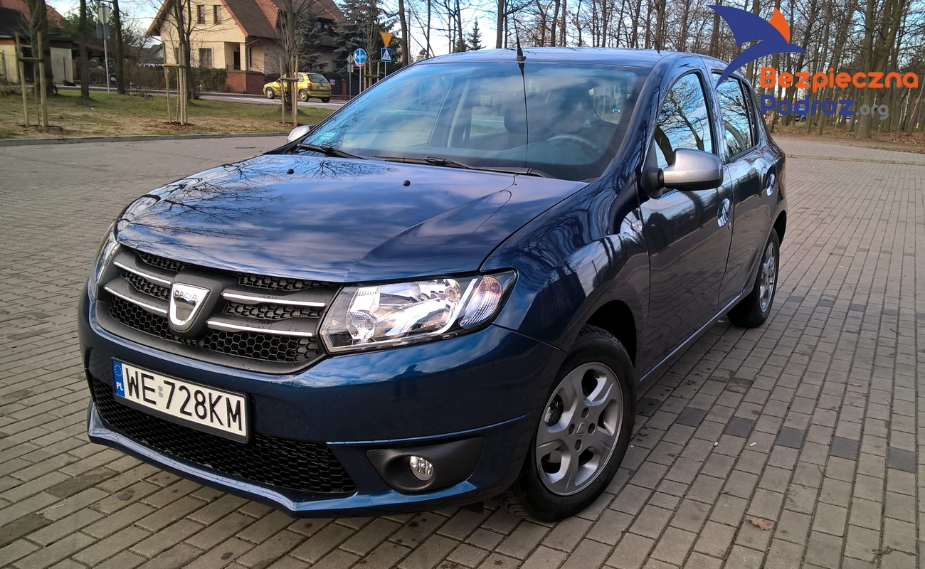 test dacia sandero 90tce manual bezpieczna podr. Black Bedroom Furniture Sets. Home Design Ideas