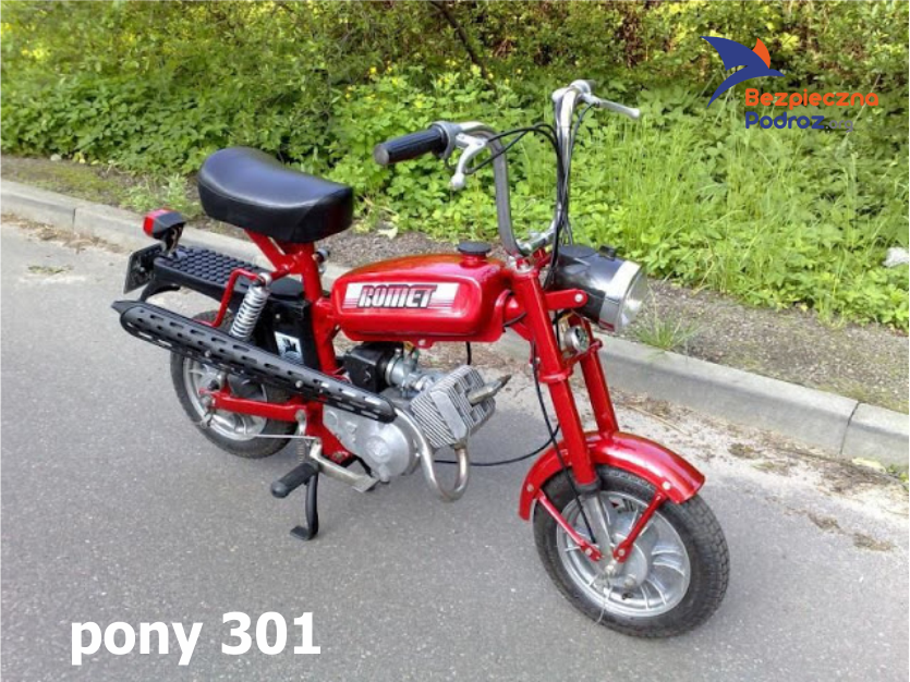 Romet Pony 50 motorynka