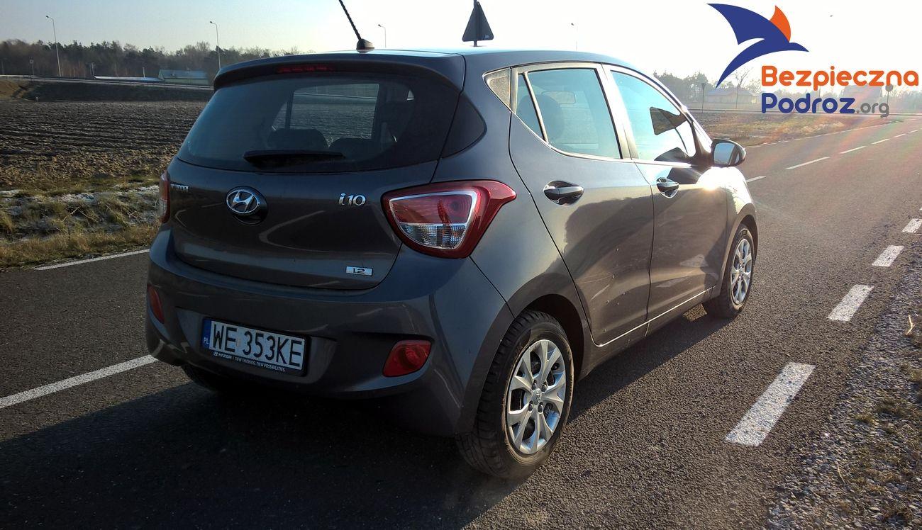 Test Hyundai i10