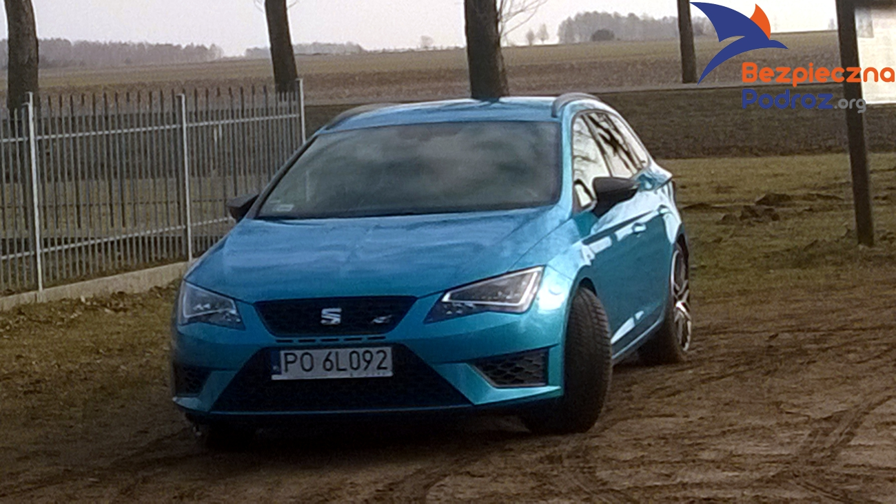 test seat leon cupra st 280km bezpieczna podr. Black Bedroom Furniture Sets. Home Design Ideas