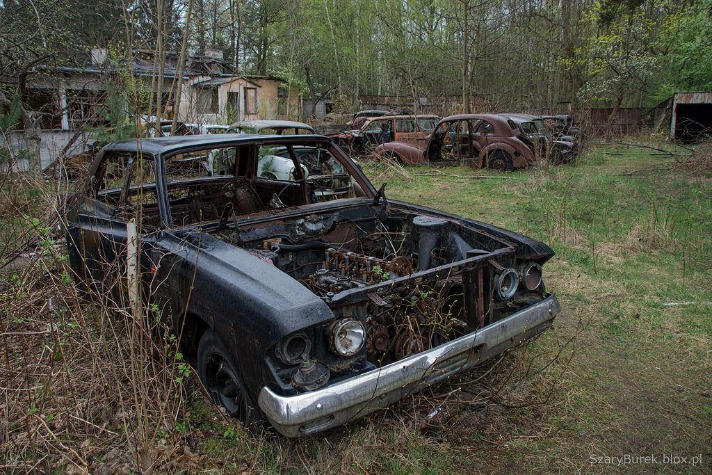 Opuszczone legendy motoryzacji