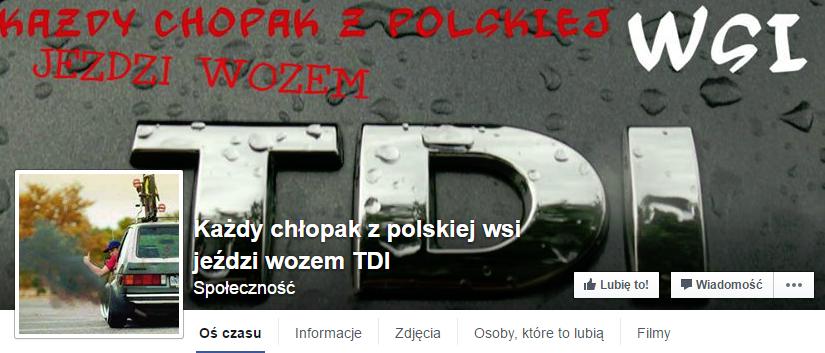 kazdy chlopak z polskiej wsi jezdzi wozem z tdi