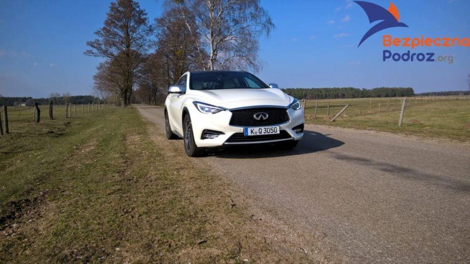 Infiniti Q30 najbezpieczniejszym samochodem rodzinnym