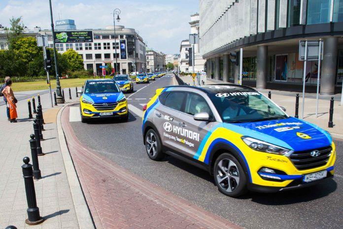 Tour de Pologne razem z autami Hyundai
