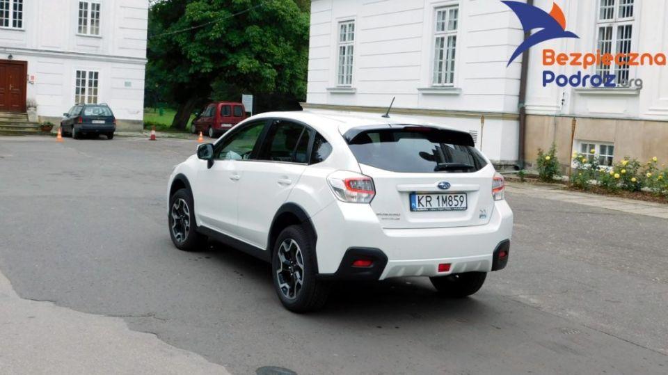 SUBARU XV Boxer Diesel Test Pałac Jabłonna