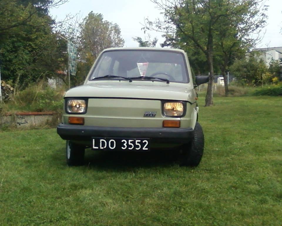 Polski Fiat 126p nostalgicznie