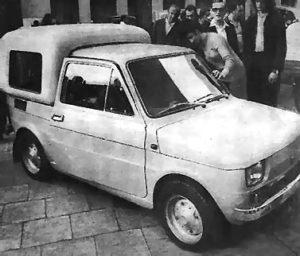 FIAT 126p BOMBEL