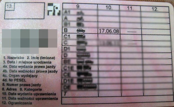 Jazda bez dokumentów