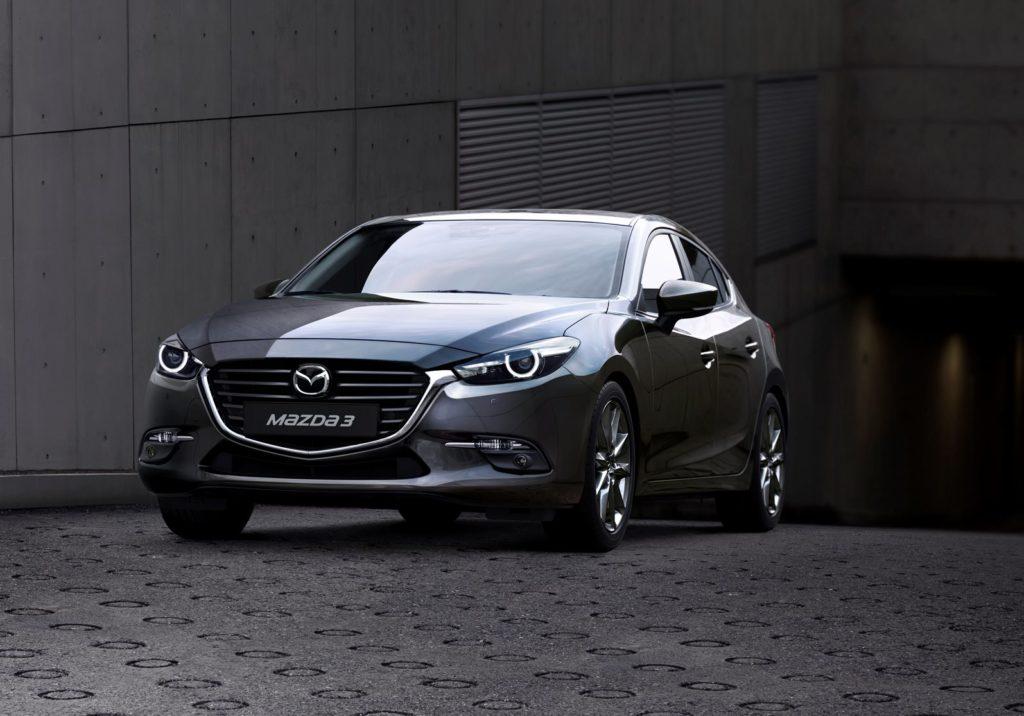Mazda 3 z roku modelowego 2017