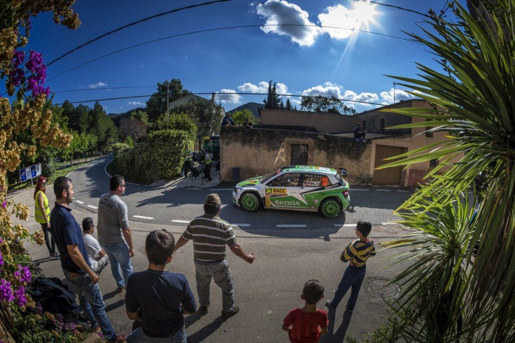 Skoda Motorsport w Rajdzie Hiszpanii