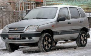 Łada Niva - Chevrolet Niva