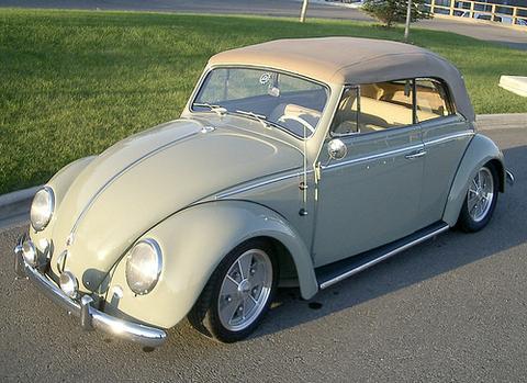 Garbus - VW typ 1 prawdziwa historia