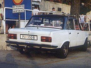 Polski Fiat 125p Akropolis