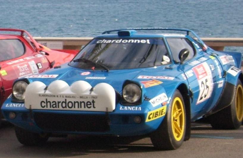 Rajdowa Lancia Stratos