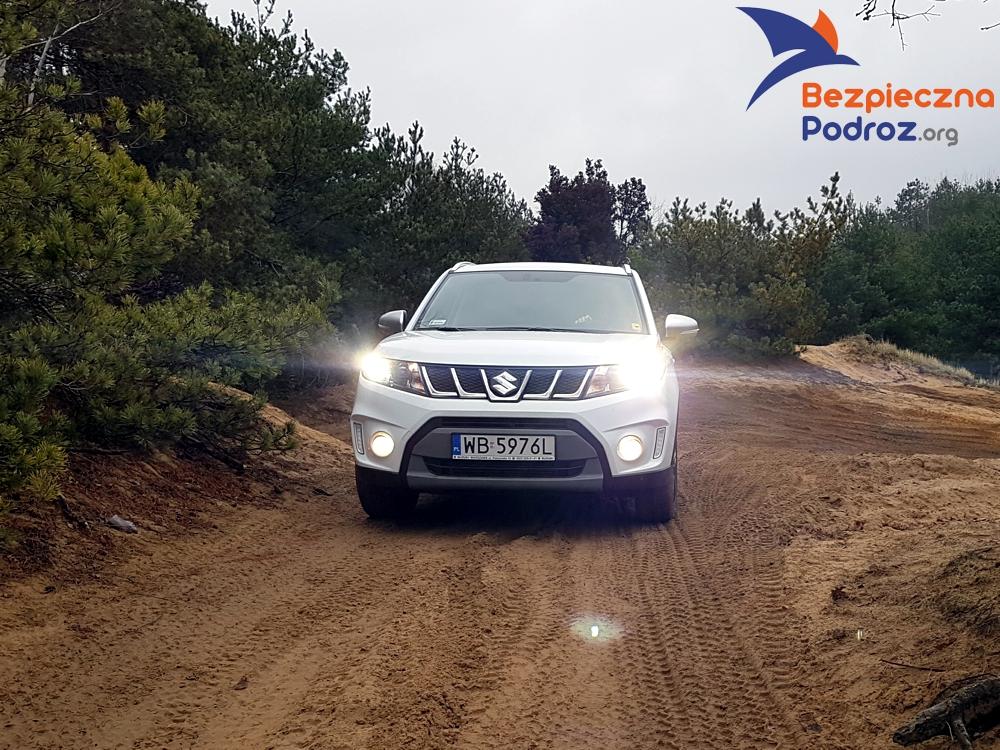 Suzuki Vitara Boosterjet Allgrip test w terenie