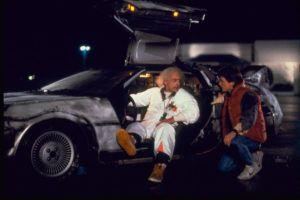 DeLorean DMC-12 Auto z Powrotu do Przyszłości