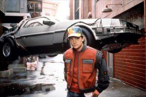 DeLorean DMC-12 Auto i wehikuł czasu