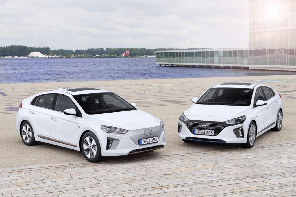 Hyundai IONIQ w Euro NCAP