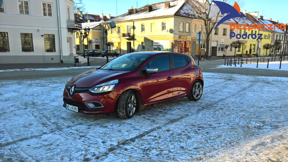 Test Renault Clio TCe GT Line oraz nawigacji Mio MiVue Drive 65 LM