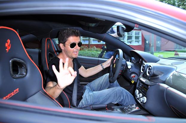 Samochody Kuby Wojewódzkiego Ferrari
