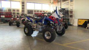 Motoryzacyjne aukcje WOŚP Sonik quad