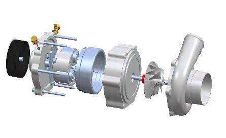 Turbosprężarka czy kompresor cz4 Rotrex