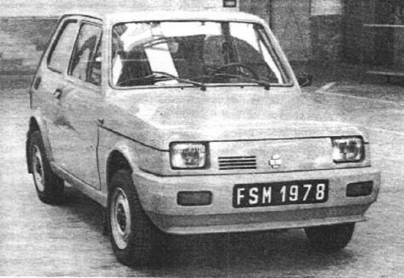 FIAT 126p Ryjek