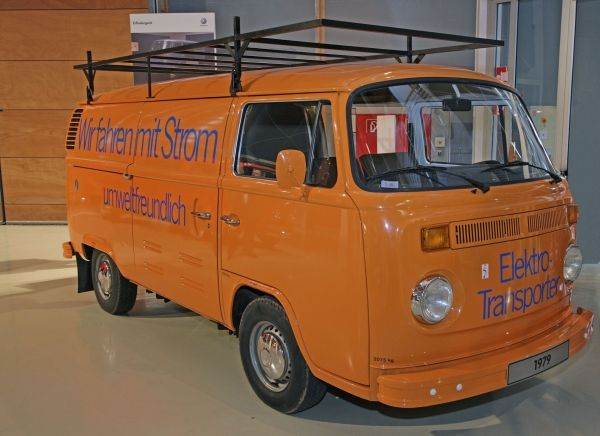 VW T2 Elektro transporter