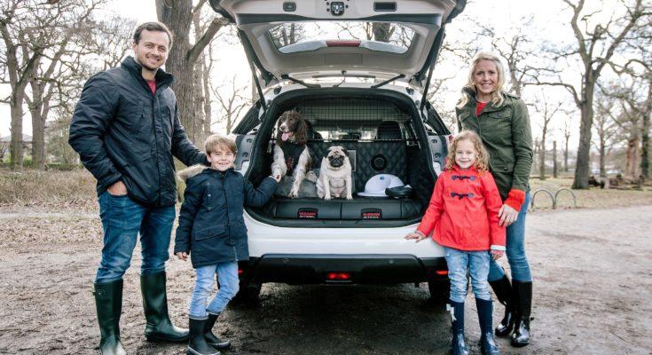 nissan x trail 4dogs dla rodzin lubi cych przygody bezpieczna podr. Black Bedroom Furniture Sets. Home Design Ideas