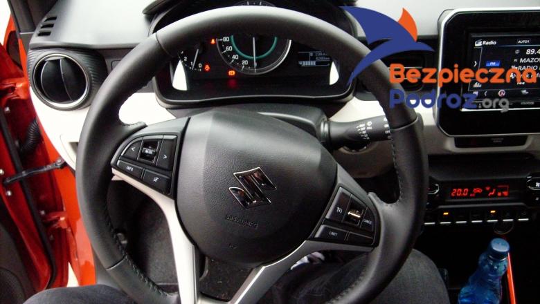 Suzuki Ignis Allgrip Dualjet 4WD od środka
