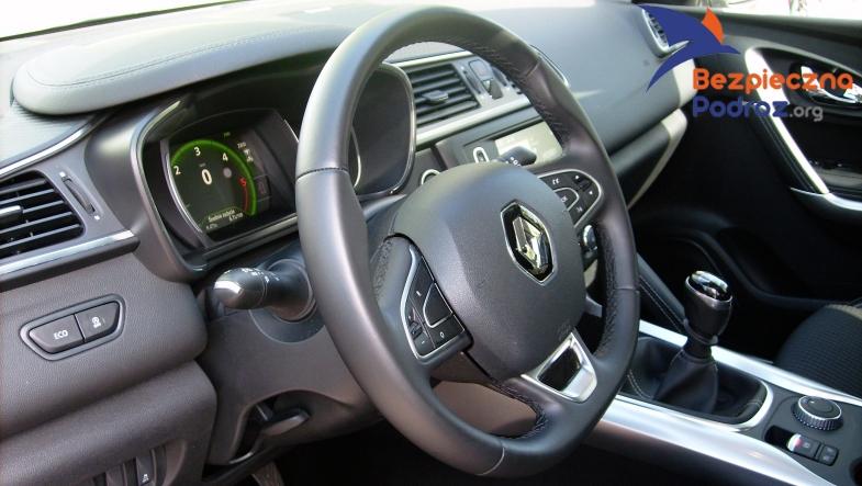 Renault Kadjar dCi 130KM od środka