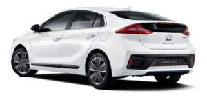 Hyundai IONIQ we flocie EcoCar