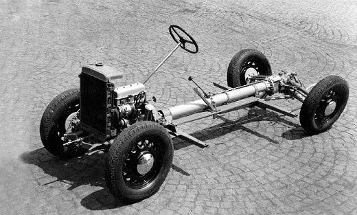 Skoda Popular - silnik OHV