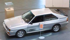 Audi Quattro - Torsen