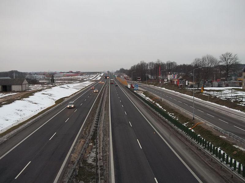 Inwestycje drogowe – województwo podlaskie
