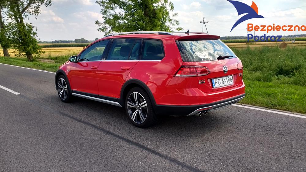 VW Golf TDI DSG Alltrack
