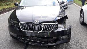 Szczegóły wypadku Ministra Macierewicza
