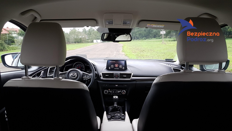 Mazda 3 Skyactiv 165KM i-ELOOP - Babskim Okiem