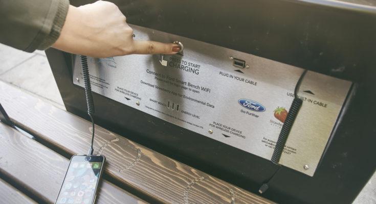 Innowacyjne ławki Forda