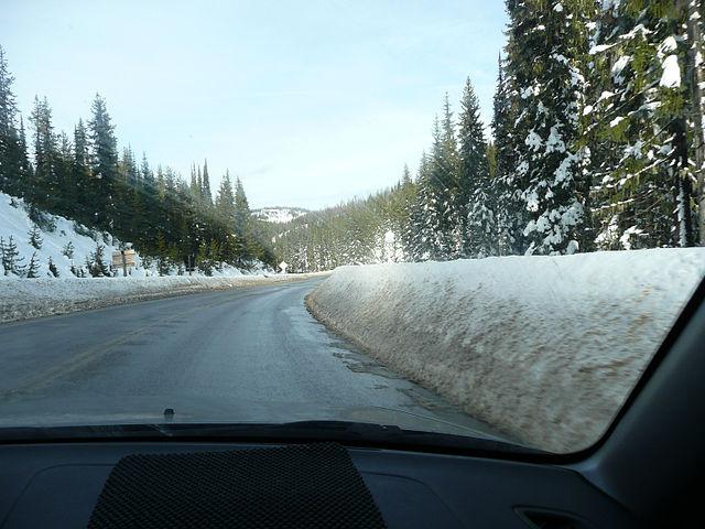 Technika jazdy zimą