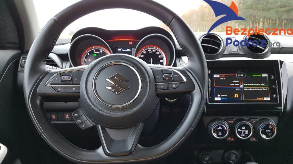 Bezpieczny Zakup Suzuki Swift Boosterjet 2wd 6at i wideorejestrator mio mivue 786 wifi