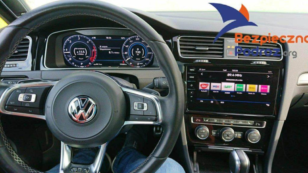 VW Golf GTD DSG7 184KM oraz Mio MiVue 786 WiFi
