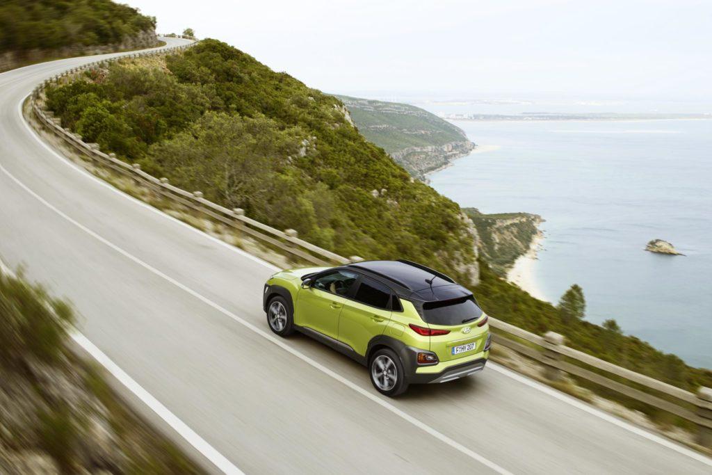 Hyundai Kona zdobywa pięć gwiazdek Euro NCAP