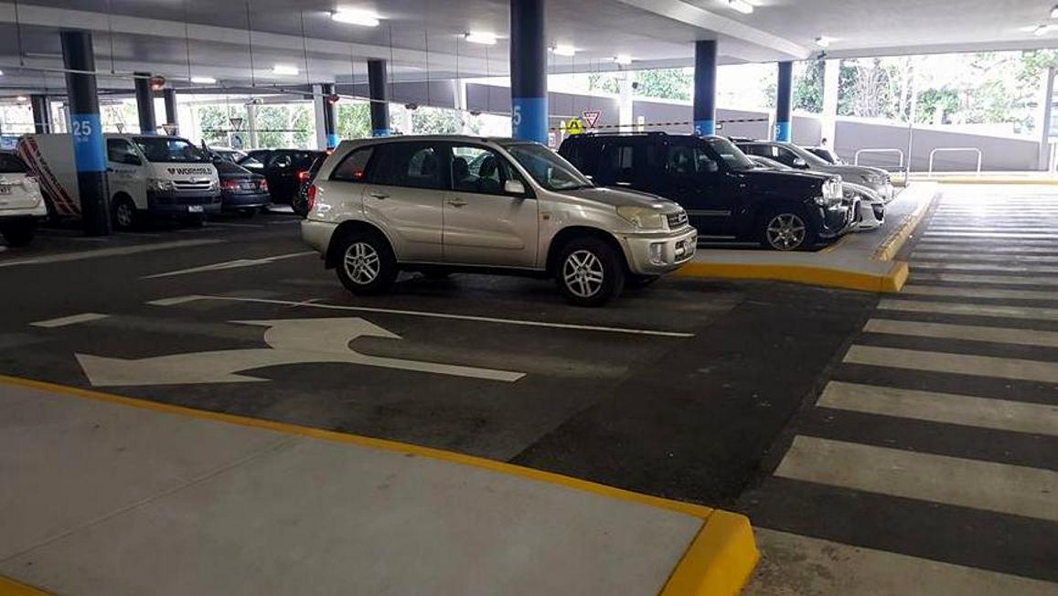 Ania z Poznania - to naprawdę trzeba mieć fantazję, ba nawet odwagę by tak parkować, brak wyobraźnie