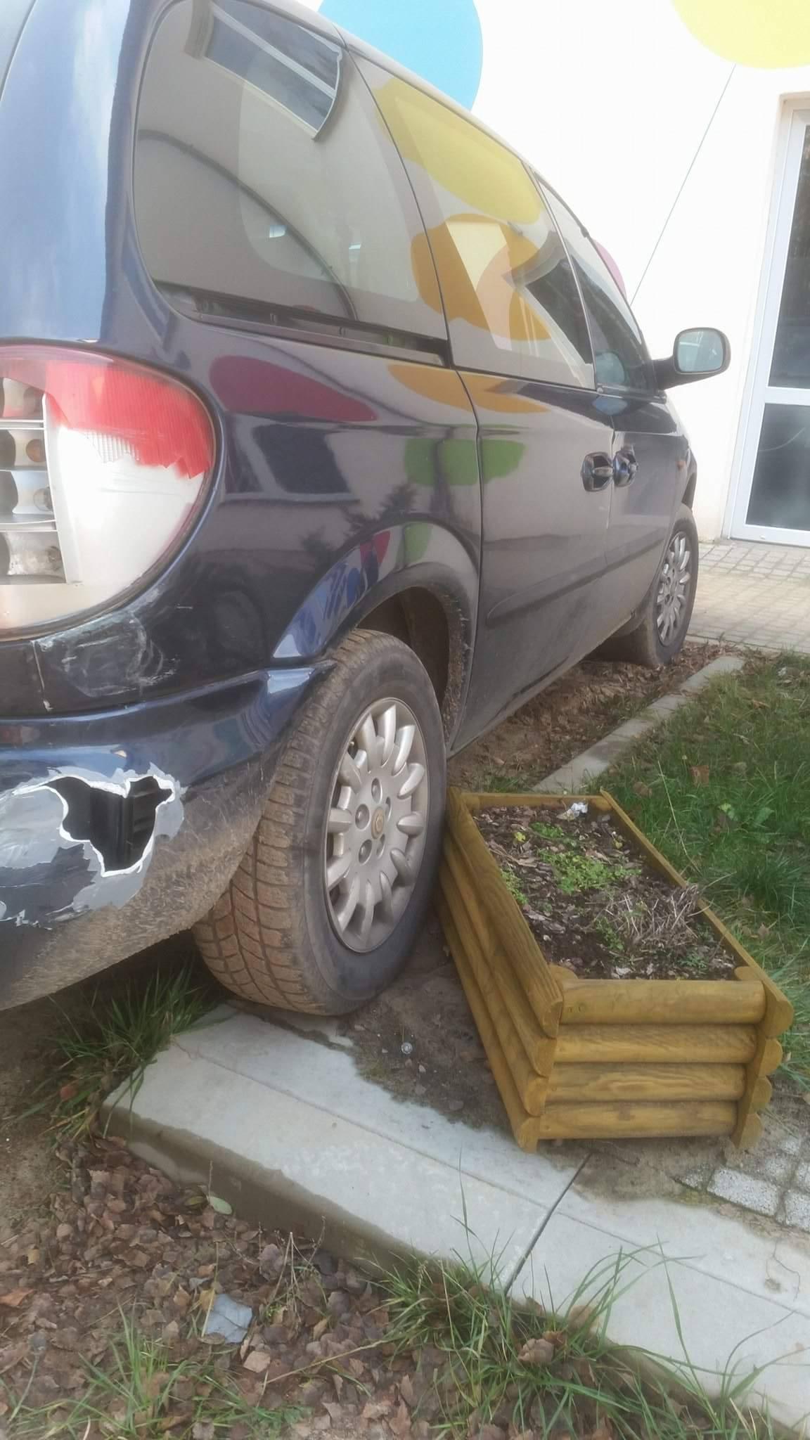 Marek T. - Parking z doniczką - Taki to miłośnik kwiatków