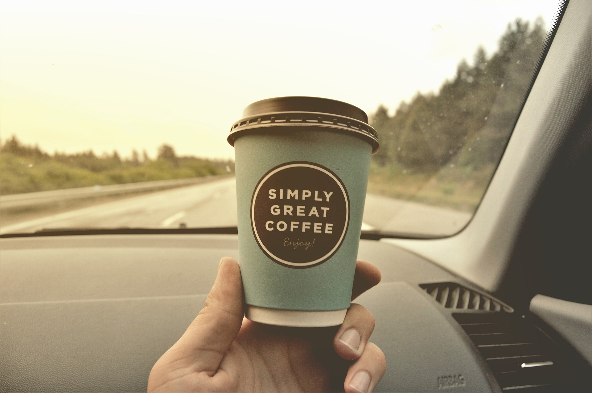 Kawa w podróży