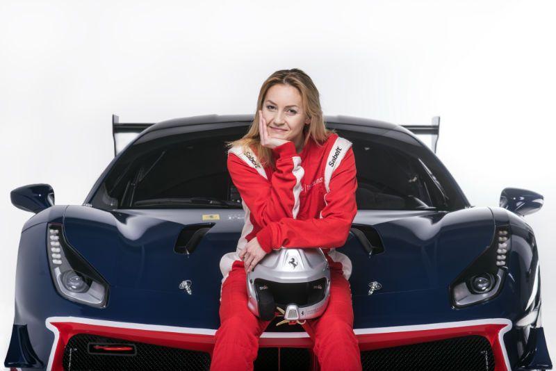 Ferrari na Poznań Moto Show