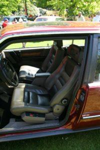 Volvo 780 - wnętrze