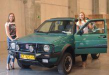 VW Golf Country Wojtka oraz modelki Aleksandra Kiślak i Monika Januszczak