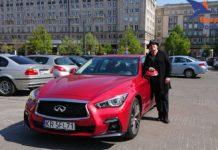 Marian Lichtman testuje Infiniti Q50S AWD HYBRID DCT